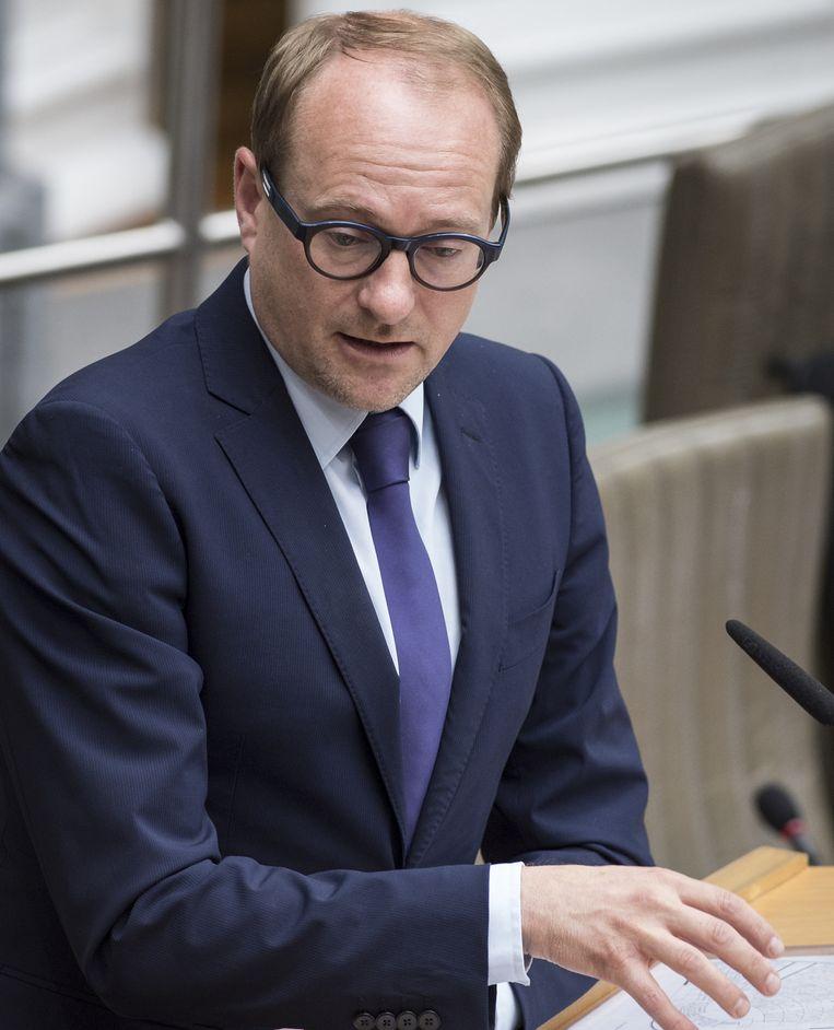 Vlaams minister van Mobiliteit Ben Weyts. Beeld BELGA