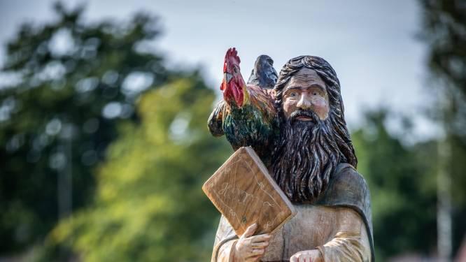Sint-Antonius waakt over de dieren van het Hoksent
