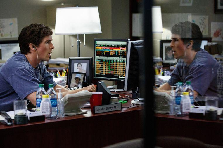 Christian Bale in 'The Big Short' van Adam McKay. Beeld