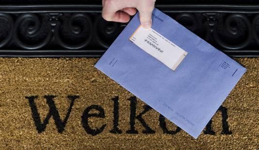 De blauwe envelop verdwijnt komende jaren langzaam uit het straatbeeld