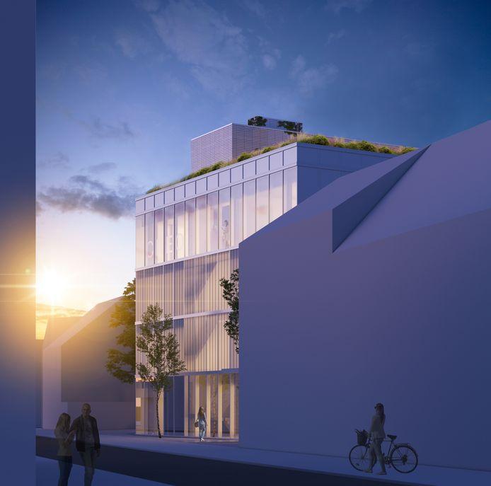 Dit wordt de nieuwe campus van CVO CREO