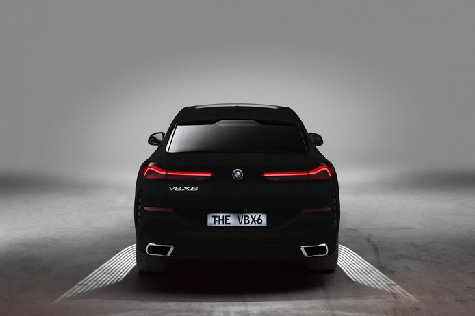 BMW X6 in Vanta Black.