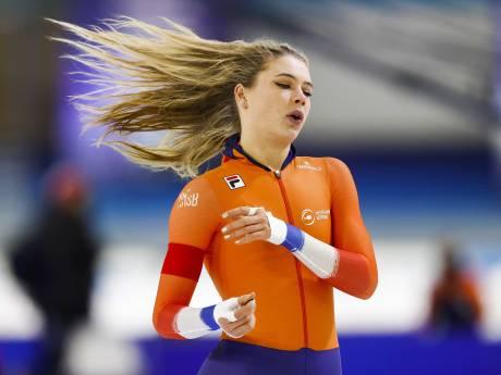 LIVE | Bowe wint 1000 meter voor Ter Mors en Kok, Leerdam verrassend naast podium