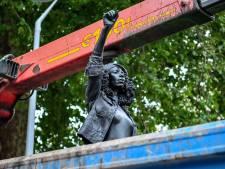 La statue d'une manifestante Black Lives Matter déboulonnée par la commune à Bristol