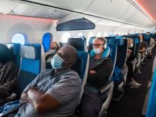 Coronavirus verspreidt zich niet verder dan drie rijen in vliegtuig blijkt uit onderzoek in Marknesse