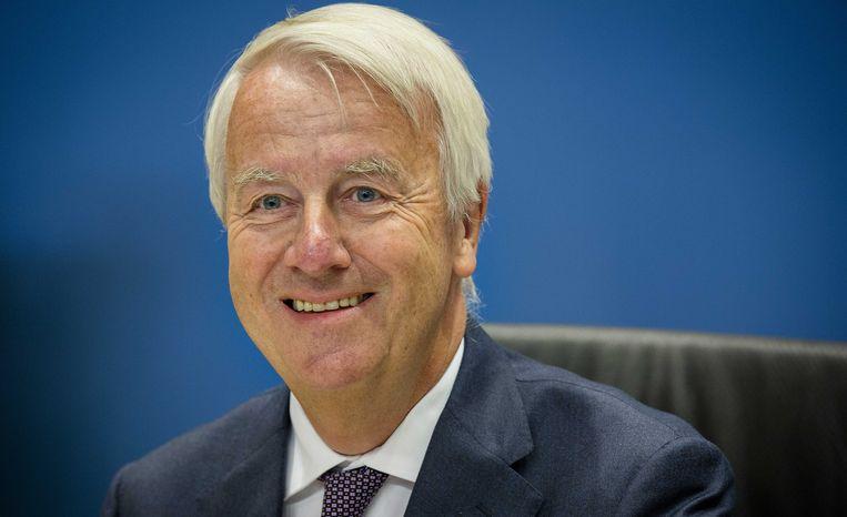 Peter Noordanus, oud-voorzitter van de Raad van Commissarissen bij Vestia. Beeld ANP
