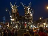 SBS Kerstparade trekt door Eindhoven