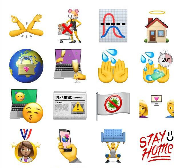 Corona-emoji's