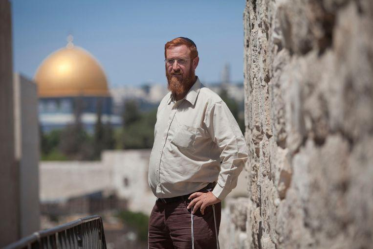 Yehuda Glick Beeld REUTERS