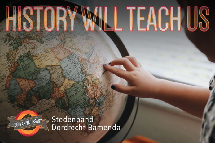 Op vrijdag 27 augustus gaat de jubileumviering verder met het online event 'History will teach us'.