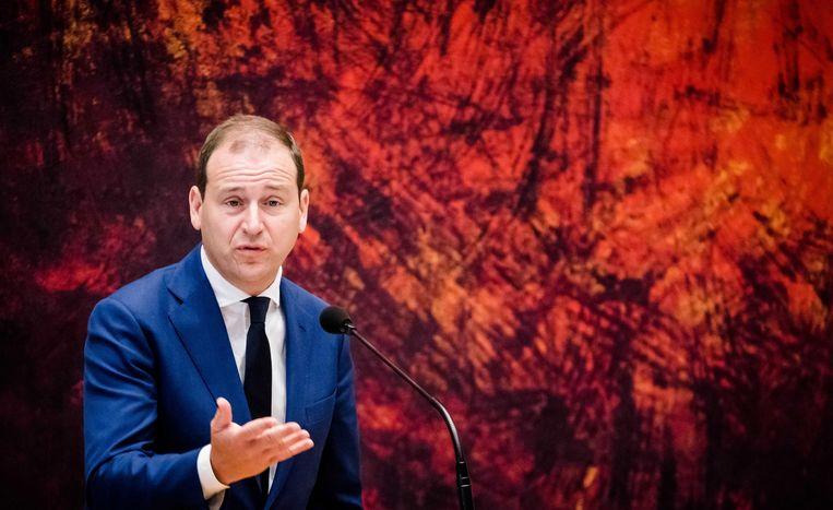Lodewijk Asscher.  Beeld EPA - Bart Maat