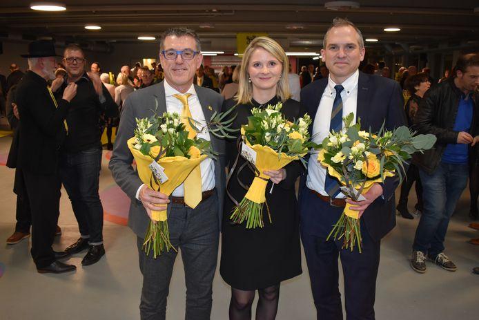 Evelien De Both wordt de eerste vrouwelijke burgemeester van Zottegem, Peter Lagaert wordt schepen.