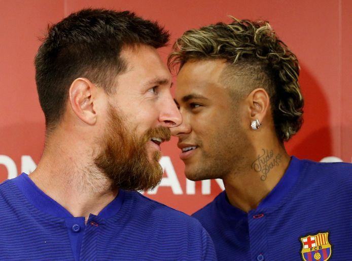Messi en Neymar toen ze samen voor FC Barcelona uitkwamen.