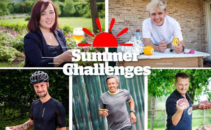 De experts van onze HLN Summer Challenges.