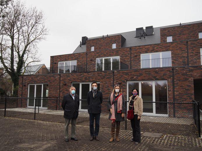Het nieuwbouwproject van de sociale huisvestingsmaatschappij Goed Wonen.Rupelstreek in het centrum van Rumst is klaar.