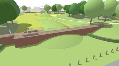 Groen schermt dorp af van kanaalzone