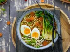 Wat Eten We Vandaag: Snelle ramen met kabeljauwflakes en gember