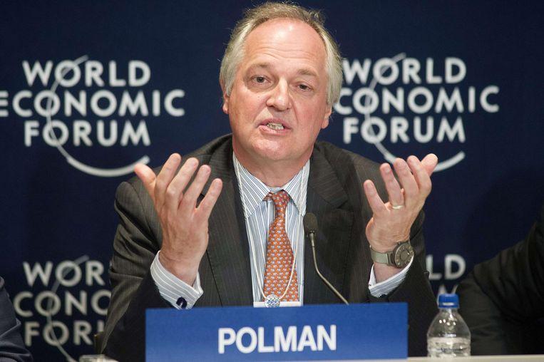 Unilever-topman Paul Polman Beeld afp