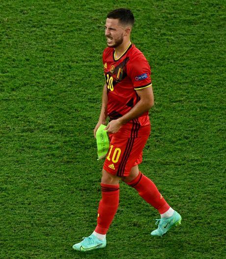 """""""Le tournoi n'est pas fini pour Eden Hazard et Kevin De Bruyne"""", Simon Mignolet quitte le groupe"""