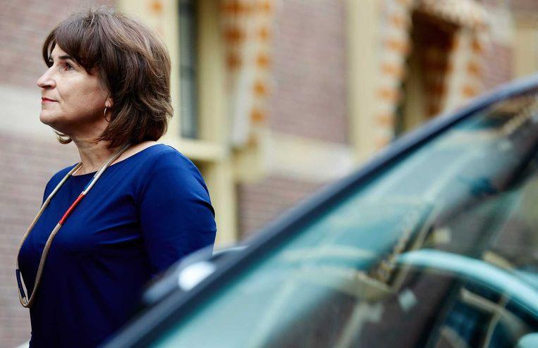 Minister Lilianne Ploumen voor Buitenlandse Handel. Beeld anp