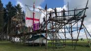 """Is dit de meest originele kampplaats van de zomer? Scouts slapen in gigantisch vlaggenschip: """"Gebaseerd op Santa Maria van Columbus"""""""