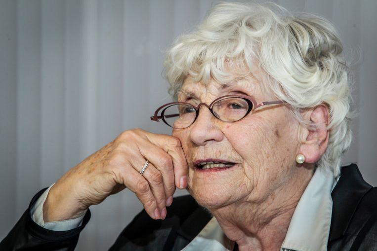 Paula Sémer werd 96 jaar. Beeld Photo News
