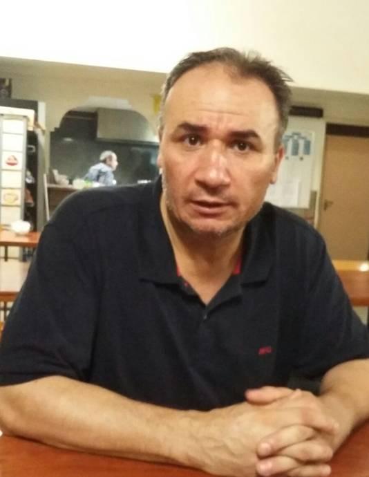 Vedat Özdal, voorzitter Ayasofya Moskee.