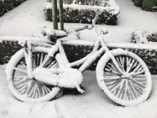 Precies één jaar geleden: een dik pak sneeuw in Amersfoort