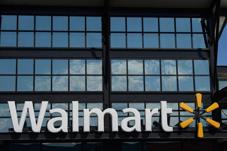 Een Walmart-supermarkt in Washington DC. Beeld AFP