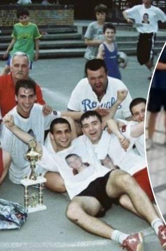 Pure nostalgie: 20-jarige Kompany bezocht in 2006 straatvoetbaltoernooi in Belgrado... en voetbalde gewoon mee