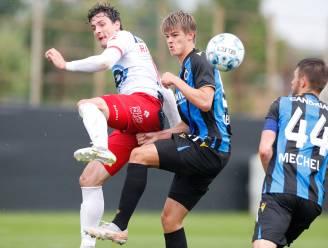 OEFENMATCHEN JPL. Club Brugge creëert nauwelijks en verliest van Kortrijk - Beerschot verslikt zich in Duitse derdeklasser - Moeskroen wint
