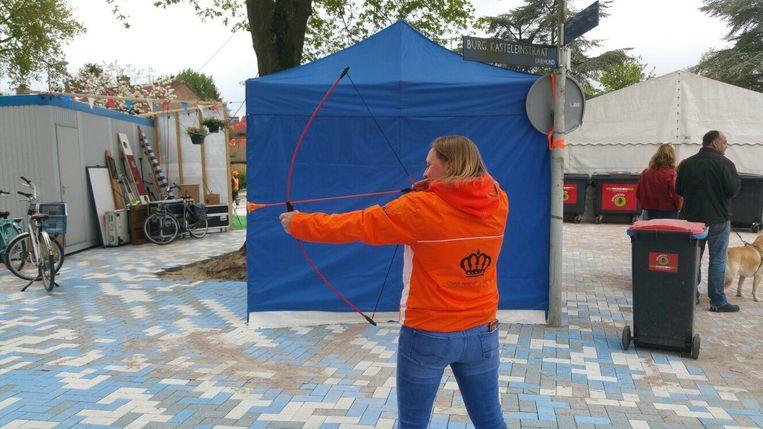 Boogschieten Beeld Oranje Vereniging Driemond