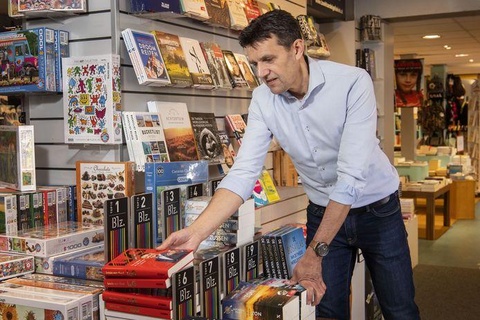 Boekhandelaar Ronald Blankvoort uit Eibergen.