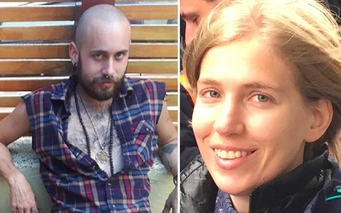 Sean McKenzie et sa victime, la Belge Amélie Sakkalis.