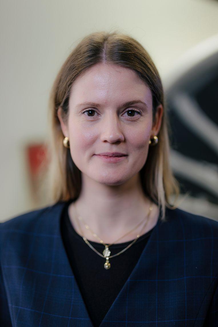 Arlette van der Veer, innovatiemanager van KLM. Beeld Marc Driessen