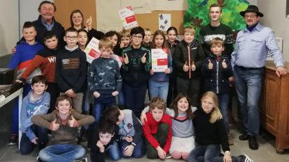 Gemeente en hogeschool sluiten Junior Techniek Academie af in Brakel