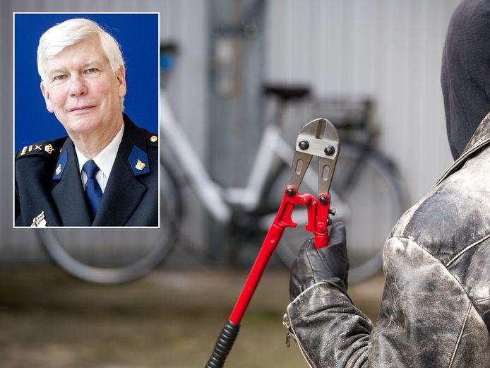 Korpschef Henk van Essen wil geen tijd meer steken in onoplosbare fietsendiefstallen.