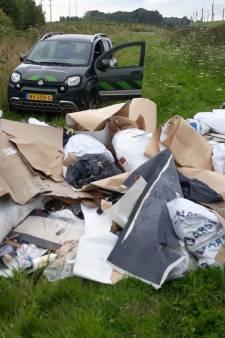 'Megahoop' afval gedumpt midden in het groen van het Bentwoud: 'Hier kan ik héél slecht tegen'