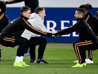 Mertens tegen Januzaj in 'Stadio Diego Armando Maradona'