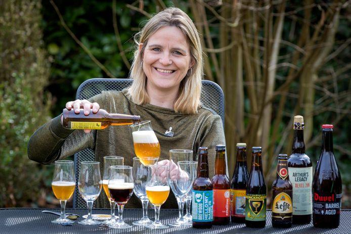 Biersommelier  Fiona de Lange.