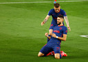 Le but de Yannick Carrasco n'a pas suffi: le Real revient à un point de l'Atletico.