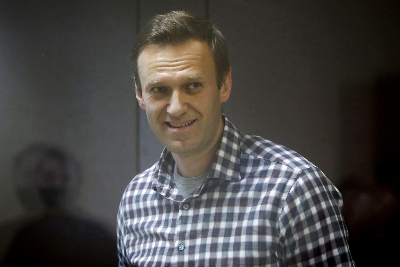 Arrêté en janvier à son retour en Russie, Alexeï Navalny a été condamné à deux ans et demi de prison dans une affaire ancienne de fraude qu'il dénonce comme politique.