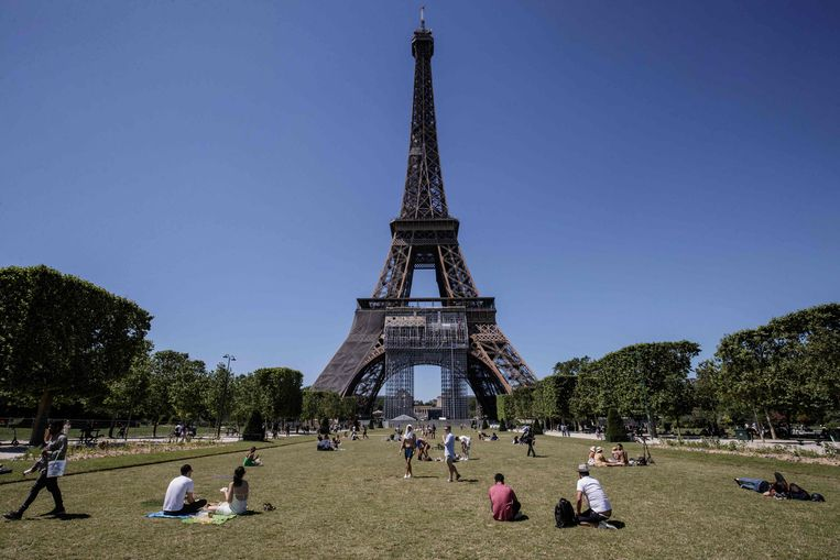 Parijs. Beeld AFP