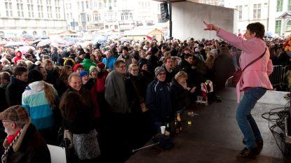 Zondag nieuwjaarsreceptie met 6.000 liter gratis drank