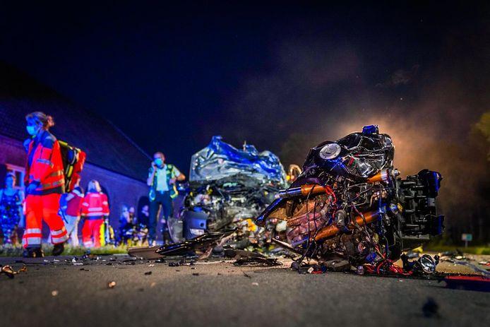 Het ongeluk gebeurde omstreeks 22.30 uur.