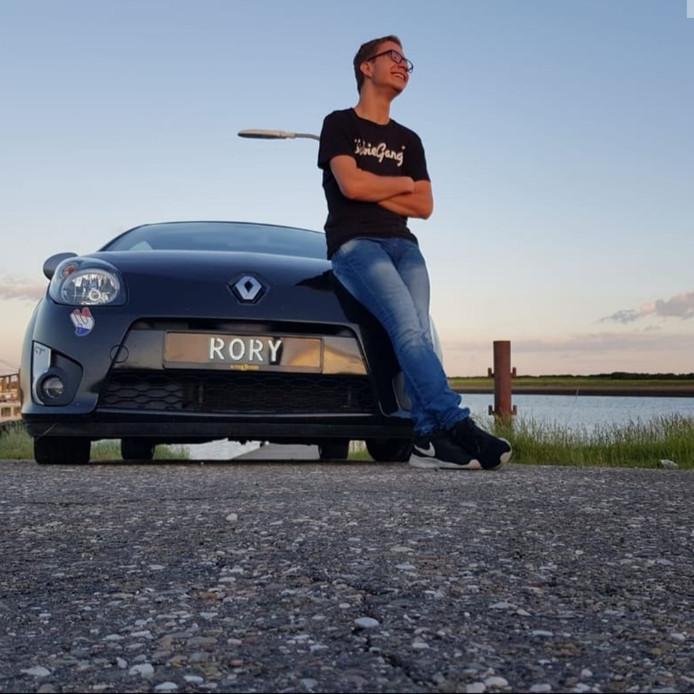 Jonno was dol op zijn auto Rory.