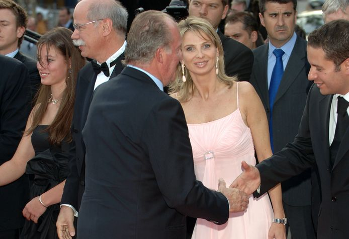 Juan Carlos et Corinna ont assisté ensemble aux Laureus Sports Awards 2006 à Barcelone.