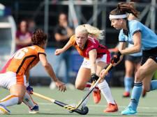 Nipte nederlaag hockeysters Oranje-Rood bij HGC