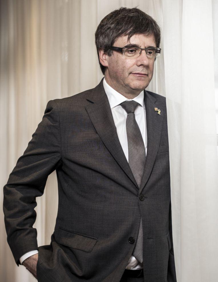 Carles Puigdemont Beeld Jiri Buller
