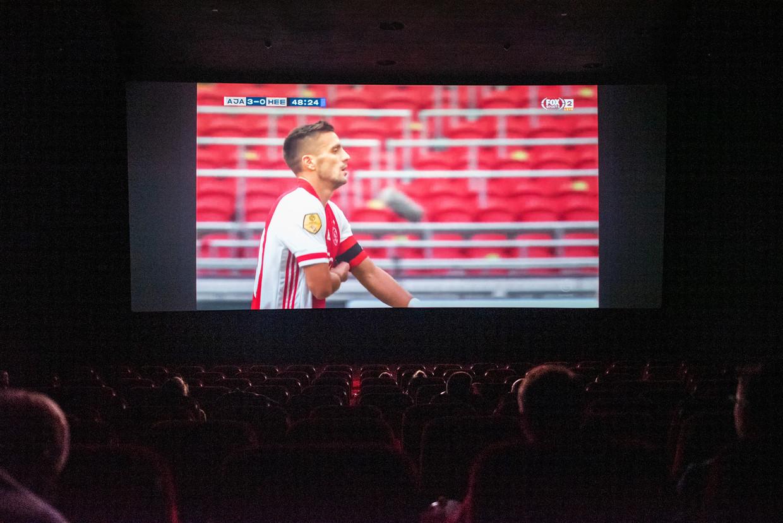 Ajax - Heereveen Pathé Arena tijdens corona. Beeld Sabine van Wechem